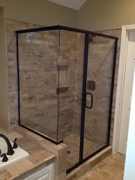 Shower With Door Framed Shower Door Photo Gallery Precision Glass