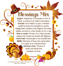 give thanks and count your blessings with thanksgiving blessings