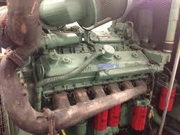 v12 detroit diesel 12v92 twin turbo cold start youtube