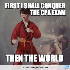 Cpa Exam Meme - there s really no limit once you pass the cpa exam funny