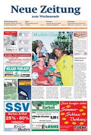 Aza Bad Zwischenahn Neue Zeitung Ausgabe Mitte Kw 28 By Gerhard Verlag Gmbh Issuu