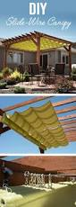 learn how to make a slide wire canopy with free how to video