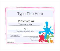 12 blank gift certificate templates u2013 free sample example format