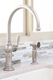 kohler brass kitchen faucets bettijo s farmhouse kitchen tour clutter