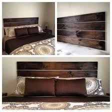 Barn Wood Headboard Diy Barn Wood Look Headboard The Crafty Frugalista