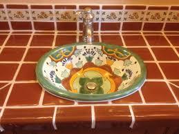 mexican tile bathroom ideas great mexican tile bathroom ideas 53 in home office design ideas