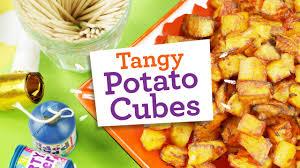 gluten free cubes easy tangy potato cubes recipe gluten free dairy free egg free