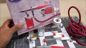 paasche vl airbrush set review youtube