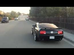 Black Gt Mustang 2007 Mustang Gt Black On Black Straight Pipes Take Off And Drive