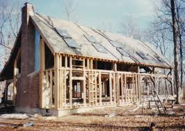 the timber frame house