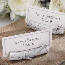 rustic place card holder guest card holders wood table number card