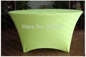 Spandex Table Cover Aliexpress Com Buy Neon Green Spandex Table Cover Lycra