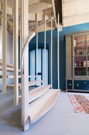 escalier design bois metal réhabilitation architecturale collaborative l u0027atelier du tregor