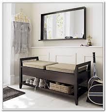Hallway Storage Bench Hall Storage Bench With Hooks Home Design Ideas