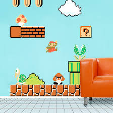 Super Mario Decorations Mario Decorations Drive Gamers Up The Wall U2022 The Register