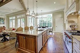 open concept kitchen home interior design