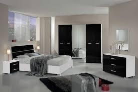 chambre à coucher blanc et noir chambre adulte noir et blanc avec best collection et chambre moderne