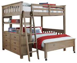Crosspointe Full Size Study Loft Bed With Desk Board - Room and board bunk bed