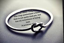 knot ring meaning the knot promise ring midyat