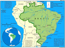 South America Rivers Map by Brazil Regional Power Global Power Opendemocracy