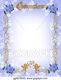 stock illustration 15th birthday quinceanera clipart drawing
