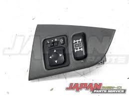 mitsubishi evo interior 01 03 mitsubishi lancer evolution side mirror switch acd oem