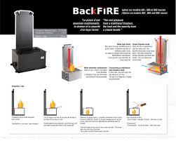 jc bordelet elisa 981 backfire mural wood burning open fire