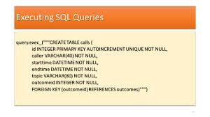 sql create table primary key autoincrement rapid gui programming with python and qt ppt download