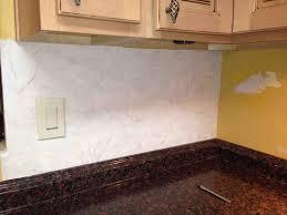 backsplash wallpaper for kitchen update an kitchen backsplash with wallpaper hometalk