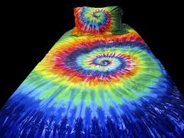 Tie Dye Bed Sets Hilarious Colorful Tie Dye Bedding All Modern Home Designs