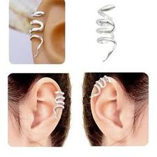 cuff piercing 1pc alloy wrap snake ear cuff earring ear hook no piercing alex nld