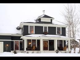 black trim stylish home black and white house exteriors