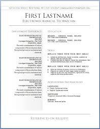 free template resume u2013 brianhans me