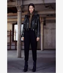 biker jacket sale allsaints patch lands biker jacket in black lyst