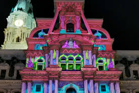 philadelphia light show 2017 here s a sneak preview of city hall s awesome holiday light show