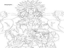 coloring pages bardock goku raditz fanfiction gekimoe u2022 75678