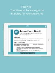 Free Resumer Builder Resume Builder Cv Designer On The App Store