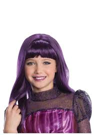 Cheap Monster High Halloween Costumes by Purple Wigs