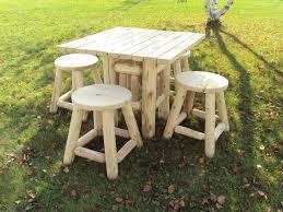 Log Outdoor Furniture by Log Artistry Log Furniture Bedroom Living Room Dining Room