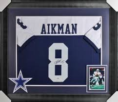 dallas cowboys signed jersey autographed authentic jerseys