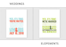 elopement invitations up up creative wedding invitations elopement cards ruffled