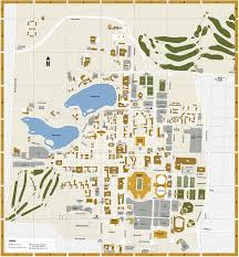 Rice Campus Map Notre Dame Football What Visitors Should Know See And Do On