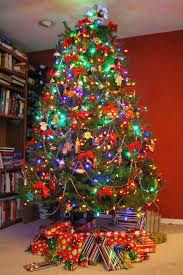 christmas tree themes unusual idea multi colored christmas trees creative ideas best 25