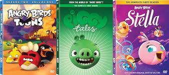 angry birds u0027 blast dvd december 1 animation network