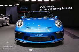 2018 porsche 911 gt3 touring package looks bewitching in black