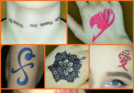 how to make temporary tattoos for cosplay youtube