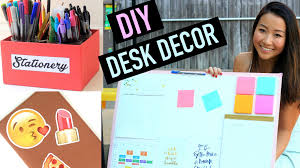 Back To School Desk Organization Diy Desk Organization Decor For Back To School Carolyninnyc