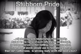 Stubborn Memes - stubborn pride imgflip
