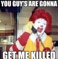 Scary Clown Memes - funny clown meme 28 images funny scary clown memes www pixshark