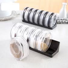 fourniture de cuisine transparent assaisonnement boîte ensemble fournitures de cuisine sel